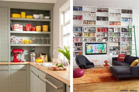Promo Koleksi Peralatan Dapur 267 Rak Dinding Dapur Aluminium Size 8 solusi mewarnai ruangan tanpa menggunakan cat dan wallpaper