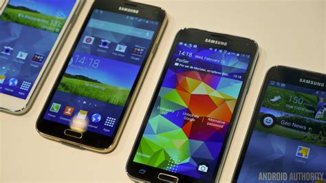 samsung galaxy s5 colors samsung galaxy s5 color comparison android authority