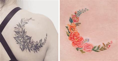 moon flower tattoo moon flower flowers ideas for review