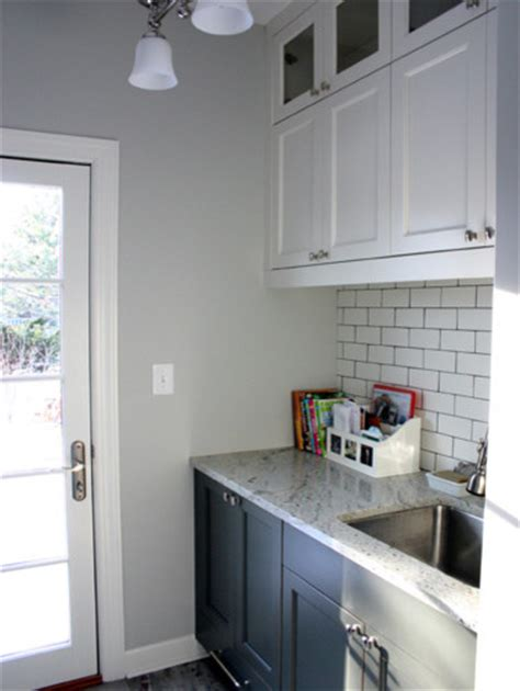 grey paint colors laundry room traditional with none beeyoutifullife