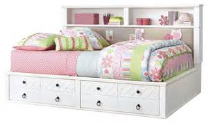 White Twin Storage Bed With Bookcase Headboard Ashley Iseydona Twin Bookcase Bed With Storage Footboard