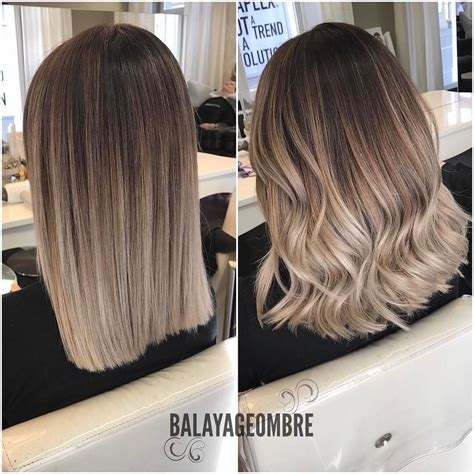 Layered Medium Long Length Ash Brownblonde Balayage Ombre Escaille | 10 medium layered hairstyles in beige brown ash blonde