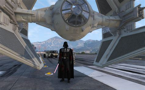 gta 5 starwars mod tie interceptor star wars gta5 mods com