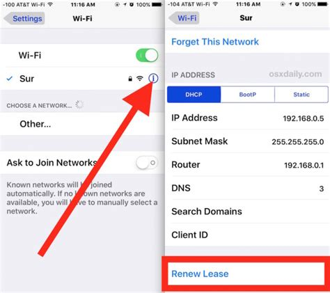 how to reset an ip address for time warner internet iphone 6 won t connect to wifi ios 10