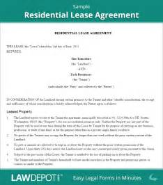 Home Lease Agreement Template residential lease agreement free rental lease form us