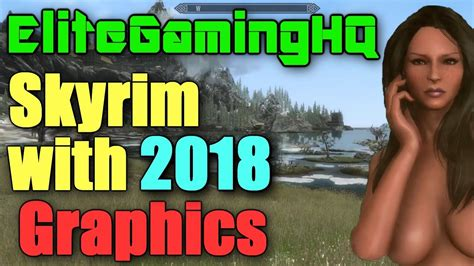 skyrim graphics mods youtube