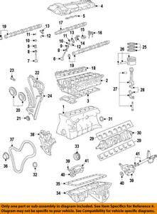 Bmw Oem 06 15 Z4 Engine Oil Pan Gasket 11137548031 Ebay