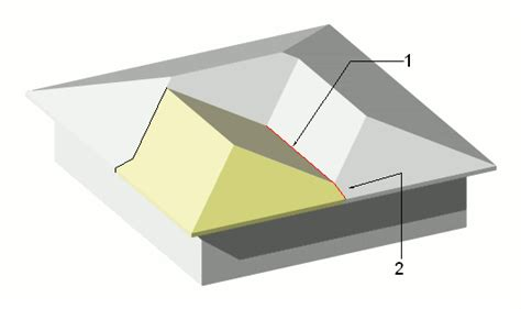 lean  shed detail  joining shed roof  house