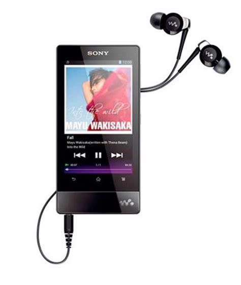 Sony Android Multimedia Player sony unveils 2012 walkman range android 4 0 f series and refreshed entry level e series on