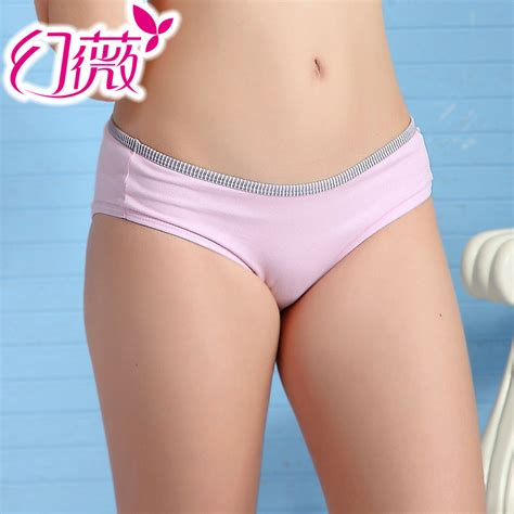 allyourpix young undies kaqi female 100 cotton underwear low waist trigonometric