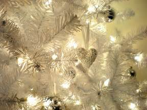white decorated christmas lights and ornaments pictures