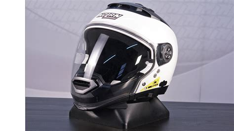 Helm Nolan N44 Half jual helm nolan n44 classic white glossy solid half putih retro galeri helm indonesia
