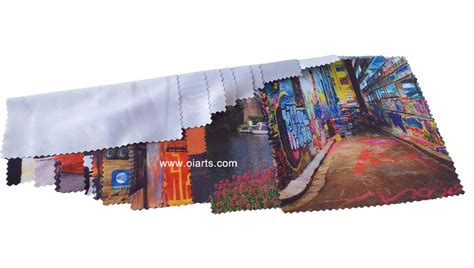 custom high quality microfiber lens cleaning cloth oiart