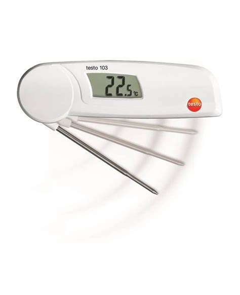Thermometer Testo testo 103 food thermometer immersion and