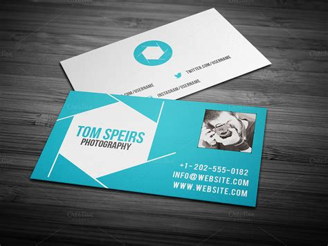 photography business card 09 business card templates on