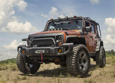 Rugged Ride by Rugged Ridge Spartacus Front Bumper 11544 01 11544 09