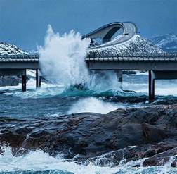 atlantic ocean road norway quoteslodge quotes images