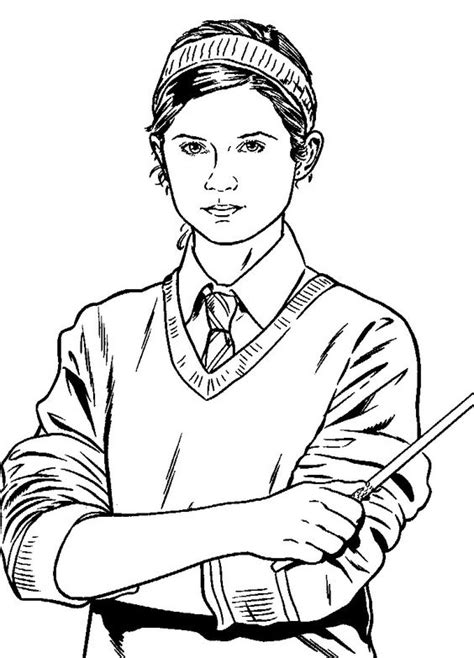harry potter coloring pages ginny harry potter coloring page coloring pages of epicness
