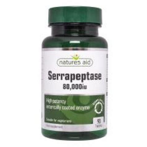 Serrapeptase Detox Symptoms by Serrapeptase 80 000iu 90 Tablets 30 Free Digestive