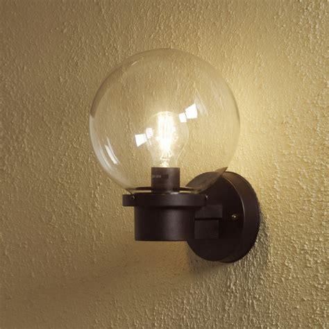 Basic Wall Light Basic Globe Wall Light Sensor Option Also