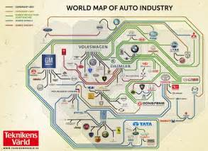 Connected Car Brands World Map Of Auto Industry Nissan Qashqai Forums