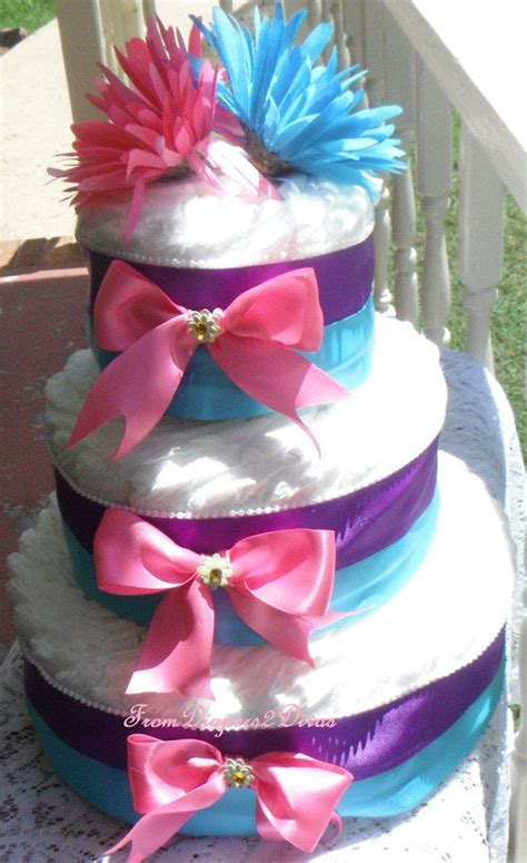 Abby Baby Pink cake pink and purple and from