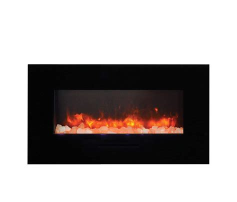 Flush Electric Fireplace by Amantii Wall Mount Flush Mount Series Electric Fireplace With Ember Media Kit Ebay