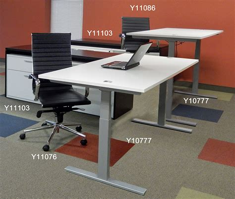 Raise Desk Height by 71 Quot X 41 Quot Bow Front Raiseup Electric Lift Height