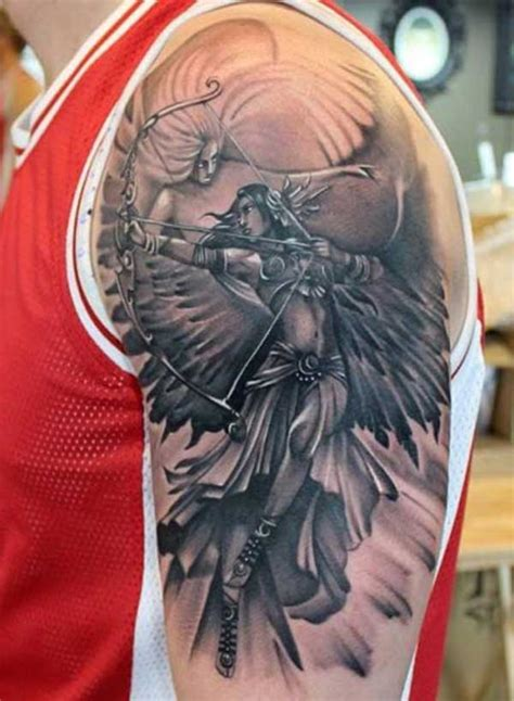 best 24 angel tattoos design idea for men and women