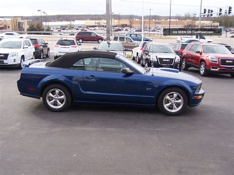 automobile air conditioning service 2007 ford mustang transmission control 2007 ford mustang gt convertible 2 door 4 6l
