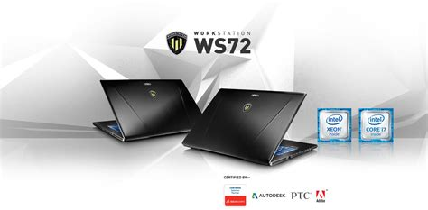 Msi Wt726qj I7 6700hq 16gb 1tb Quadro M2000m 4gb 173 Win10 Pro 4 msi ws72 6qj 241xes i7 6700hq 16gb 1tb 512gb quadro m2000m
