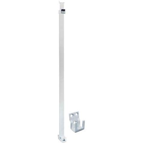 Patio Door Bars Prime Line Patio White Sliding Door Security Bar U 9921 The Home Depot