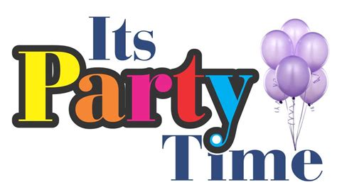 Wonderful Christmas Inviation #4: Party-time-sign-party-time-logo.jpg