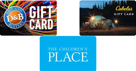 Cabela S Gift Cards At Kroger - save on gift cards children s place cabela s jiffy lube more hip2save