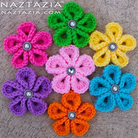 flower pattern crochet for beginners crochet flowers free patterns for beginners crochet and knit