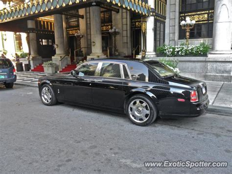 rolls royce phantom spotted in manhattan new york on 07
