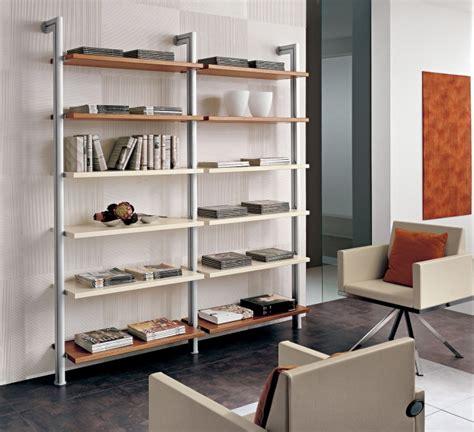 librerie in alluminio libreria pr con montanti in alluminio l195 9 cm