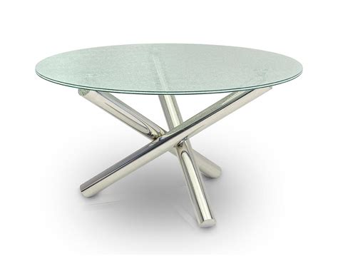 glass dining table modern modrest frau modern cracked glass dining table