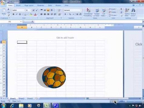 pattern ui excel 2007 excel 2007 tutorial 1 getting started and the user