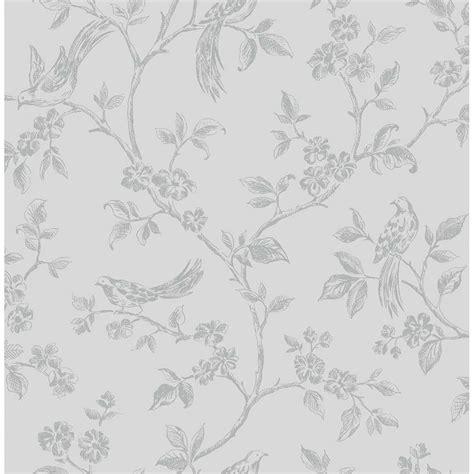 grey wallpaper with birds on shimmer birds wallpaper soft grey silver ilw980044