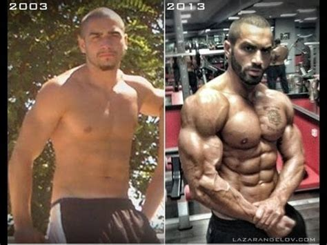 lazar angelov s before after body transformation video