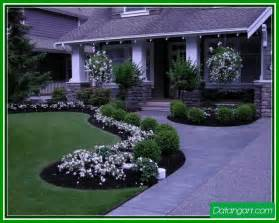 landscaping ideas for front yard flower beds home