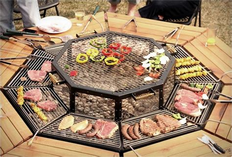 diy pit grill table 10 outdoor kitchen ideas you ll to see to believe