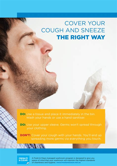 coughing and coughing and sneezing etiquette poster www pixshark images galleries with a bite