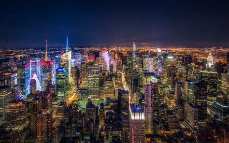 Novel Manhattan For Two nowy jork panorama z lotu ptaka