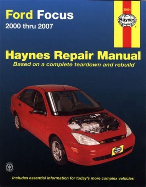 ford windstar freestar 1995 2007 repair manual haynes repair manual pdfsr com ford focus 2000 thru 2007 haynes repair manual pdfsr com