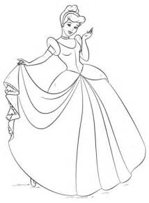 cinderella coloring pages koloringpages