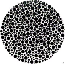 monochrome color blindness ishihara test