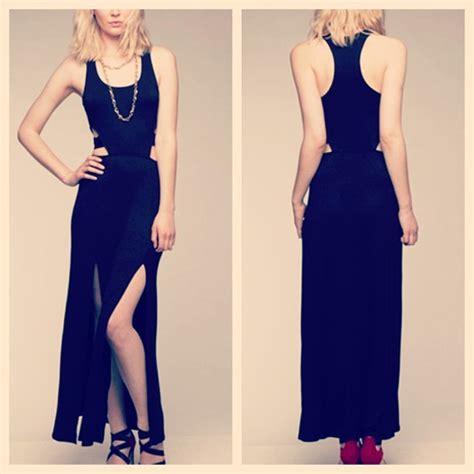 dress maxi dress shut it black fashion