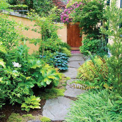 12 ideas for side yards sunset magazine side gardens